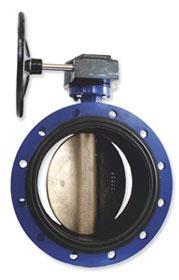 Затворы дисковые поворотные фланцевые 021F Dendor